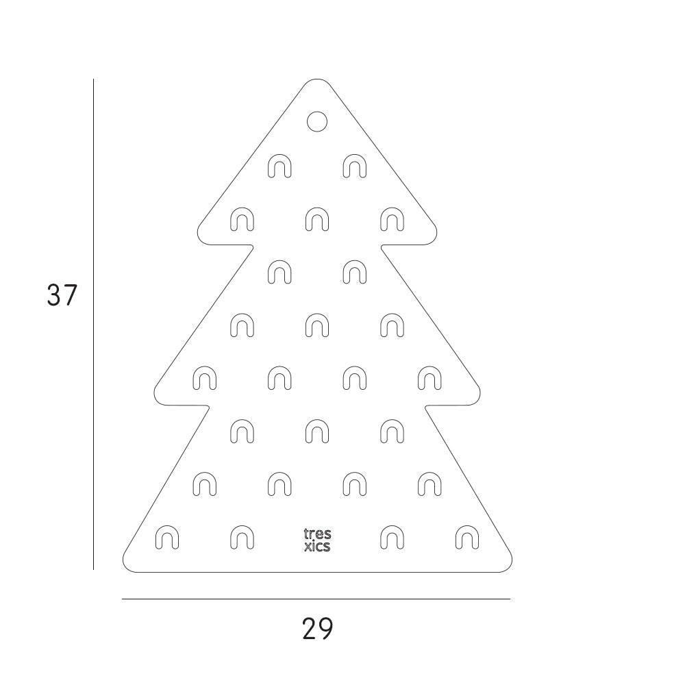Load image into Gallery viewer, Advent Calendar Fir Tree by Tresxics | Boxes