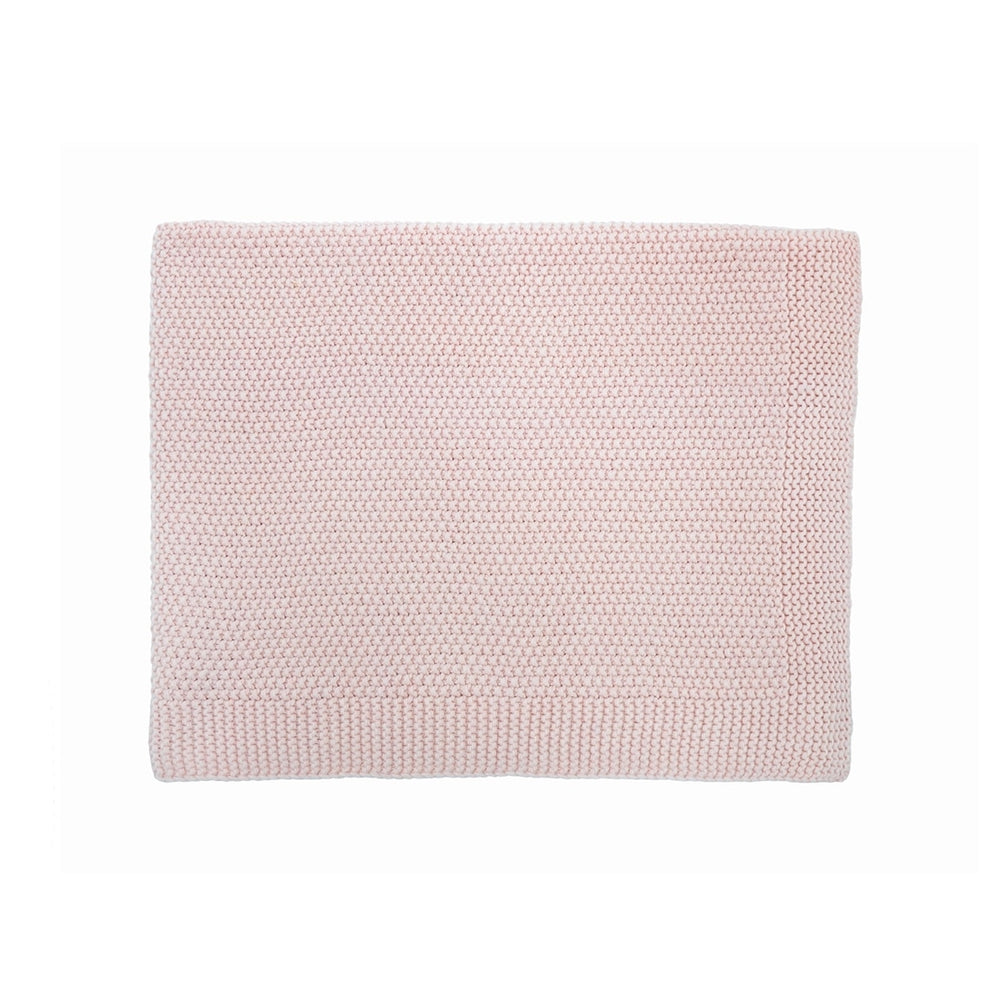 Big Bou Blanket in Light Pink by Rose in April