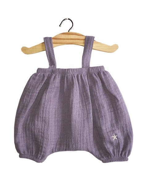 Bloomer Kim Double Gauze Cotton | Lavender for Minikane x Gordis Dolls