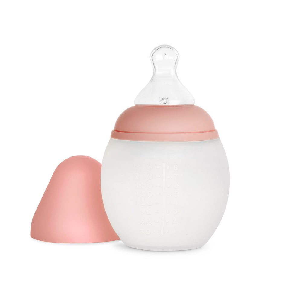Baby Bottle 240ml in Summer Coral
