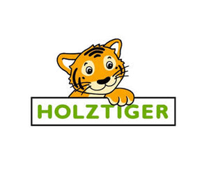 Load image into Gallery viewer, Standing Tiger Wooden Figure by Holztiger