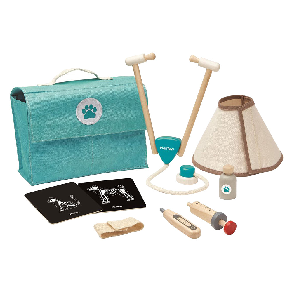 Wooden Vet Toy Set