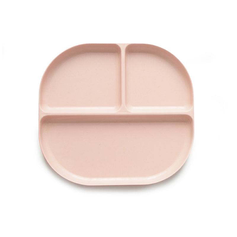 Load image into Gallery viewer, Bambino Divided Tray - Blush by Ekobo