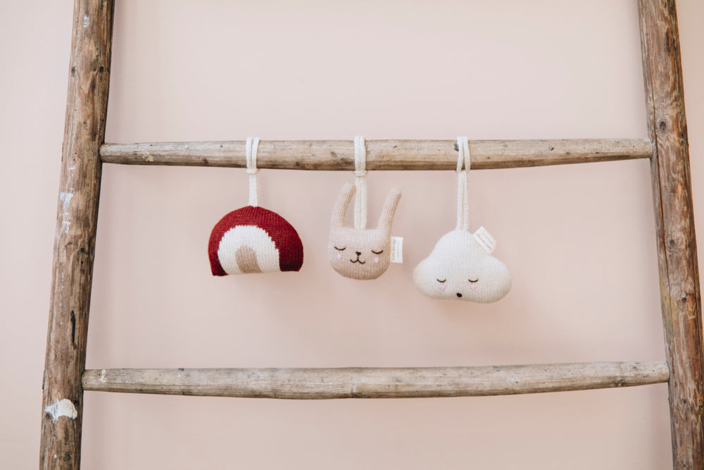 Rainbow Hanging Rattle by Main Sauvage