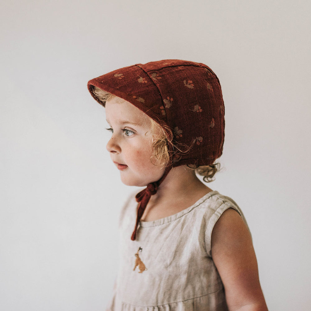 Hawthorns Wide-brimmed Bonnet by Main Sauvage