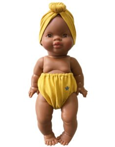 Mustard Odette Retro Set for Gordis Dolls by Minikane