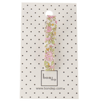 Liberty Alligator Hair Clip in Chamomile Pink by Bon Dep