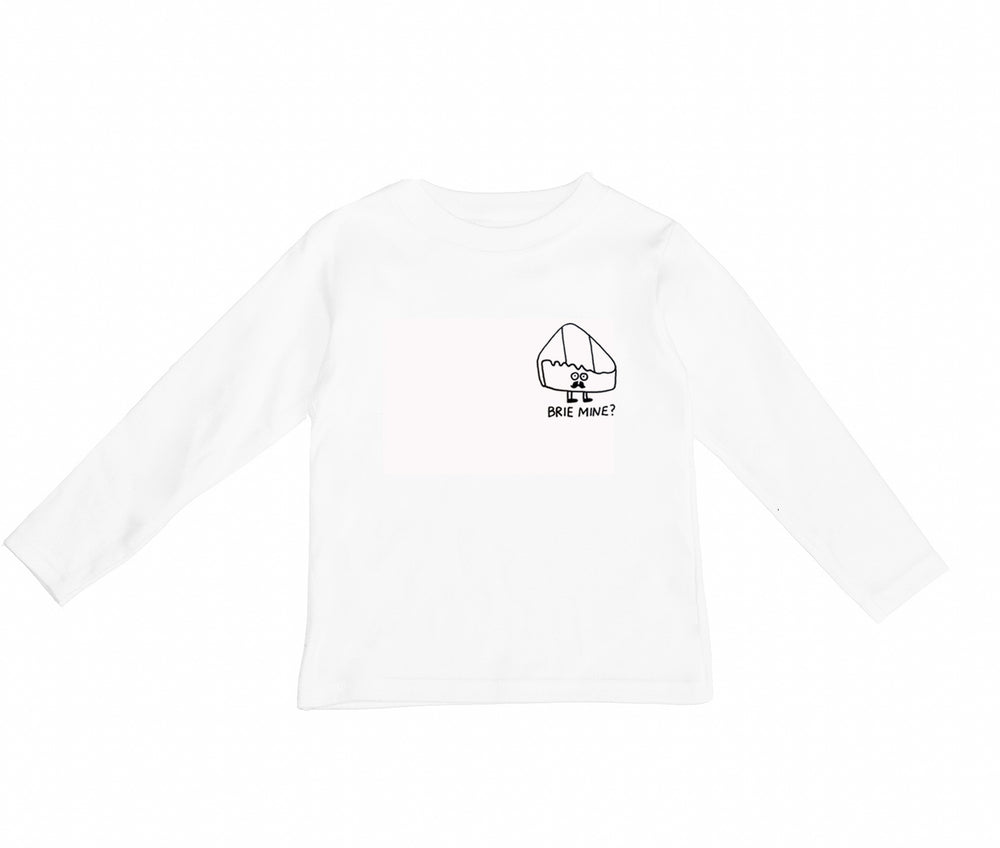 Brie Mine Long Sleeve Tee by Wexbaby