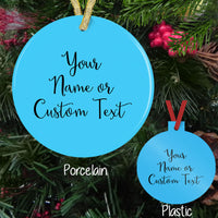 2020 Sucked Funny Personalized Christmas Ornament