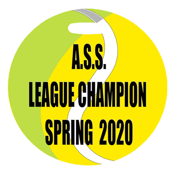 league champion tennis bag tag private listing