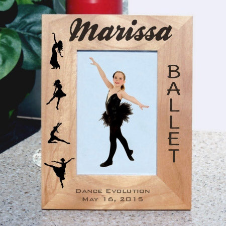 ballet recital picture frame tall
