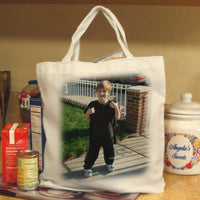 help the environment by shopping with your own photo tote bag