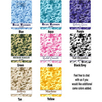 Color Choices for Camouflage Clipboards