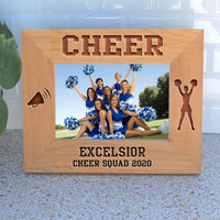 Cheerleader Gifts Personalized Photo Frames