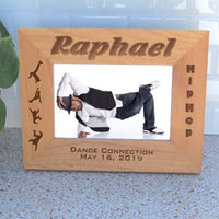 Personalized hip hop frame for wide photos