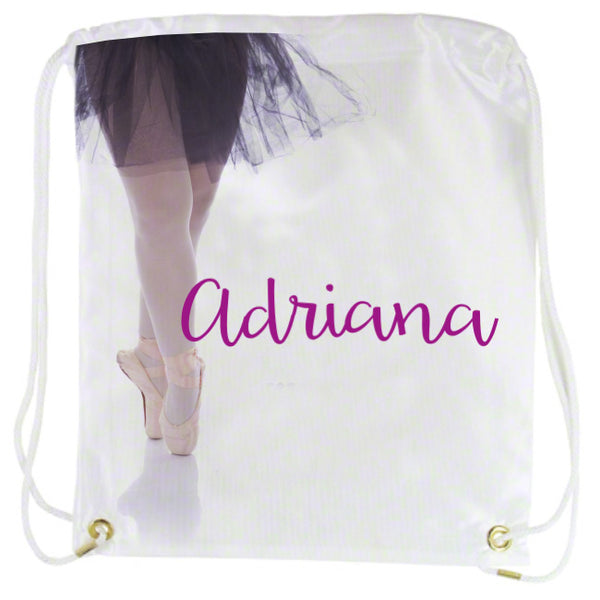 Ballet Back Packs and Tote Bags Personalized