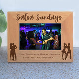 Wide Latin Dance Picture Frame