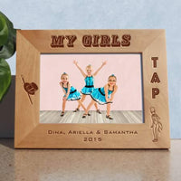 tap dance 4x6 wide photo frame
