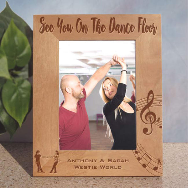 Personalized West Coast Swing Dancer Picture Frames