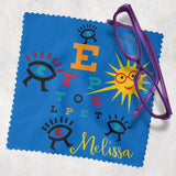 Funny Eye Chart Lens Cleaning Cloth Personalized With Any Name