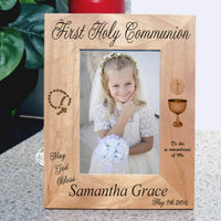 tall - portrait - orientation of communion frame