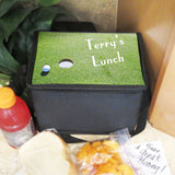 golf theme lunch tote with straps this tote is deeper than the handle tote
