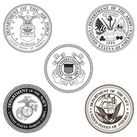 Choose from 5 insignias