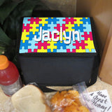 Personalized Lunch Cooler with shoulder strap