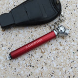 Tire Gauge Personalized Air Pressure Checker Key Ring
