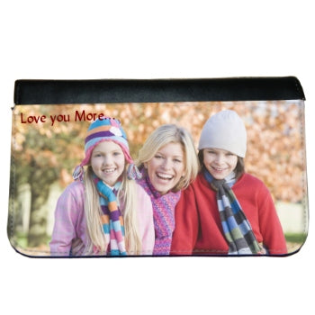 Wide photos are best for ladies bi-fold wallet