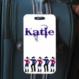 sports bag tags for country line dancers