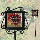 Garden Stake Marker with Our Image #80 Sunflower