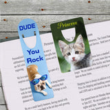 Bookmarks Personalized With Your Photo and Name