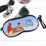 Eye Glass or Sun Glasses Zipper case Personalized with Your Photo and Text