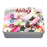 rectangle gift tins are great for storing buttons after gifting