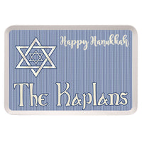 Shield of David Personalized Serving Tray