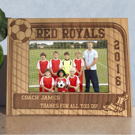 Soccer team Photo Picture Frame