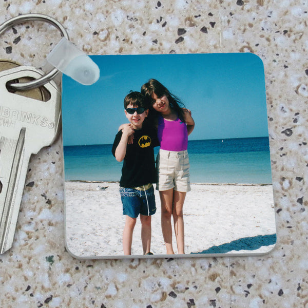 Photo Key Chain Square Shape