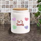 Sweet Treats Corked Canister Jar