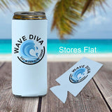 12 ounce slim can cover for claw cans with your logo or design