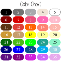 Text Color Chart