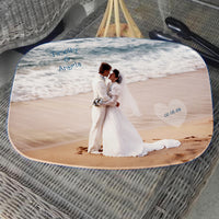 wedding photo serving platter 14x10