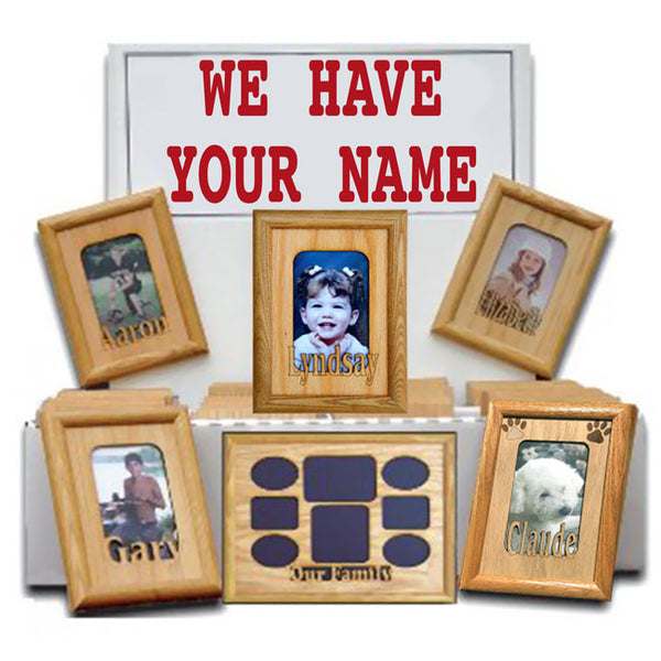 Name Matts engraved - Frames are no longer available