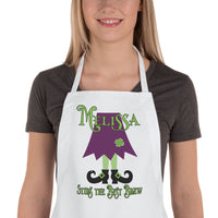 Witches Feet Personalized Halloween Cooking Apron