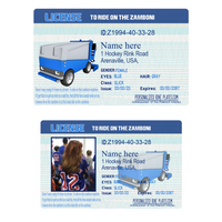 Zamboni Driver's License Joke Hockey Gift. Can be personalized with your photo and zamboni image or just zamboni