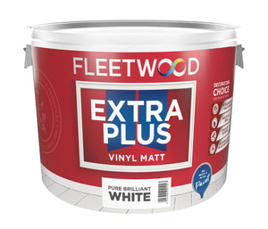 Fleetwood Extra Plus Vinl Matt 10Ltr