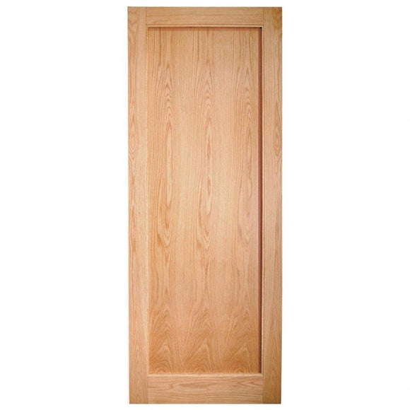 Indoors Rushmore Shaker Oak Door Pre-Finished 80X34