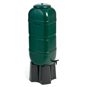100 Litre Waterbutt W/Stand, Tap & Fittings