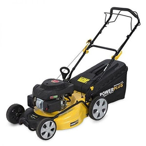 Powerplus 196cc Lawnmower-S/Prop-Steel Deck-Mulch