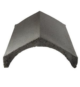 Slates Ridges Concrete 90 Degree Black